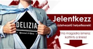 Delizia üzletvezetőhelyettes